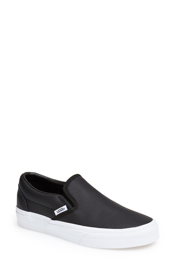 Vans 'Classic' Perforated Slip-On Sneaker
