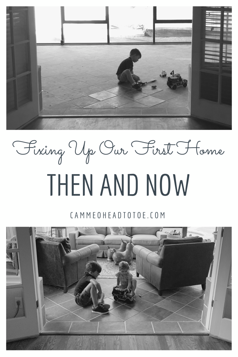 Recreating Old Photos in our First Home