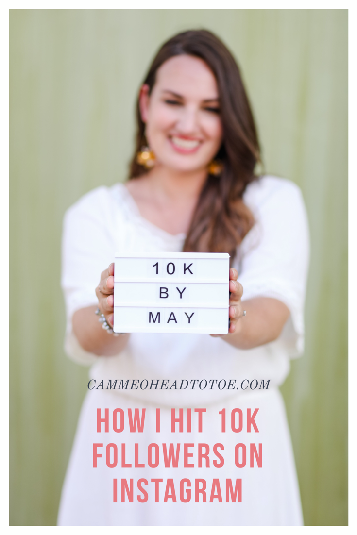 10 Ways to hit 10k followers on Instagram