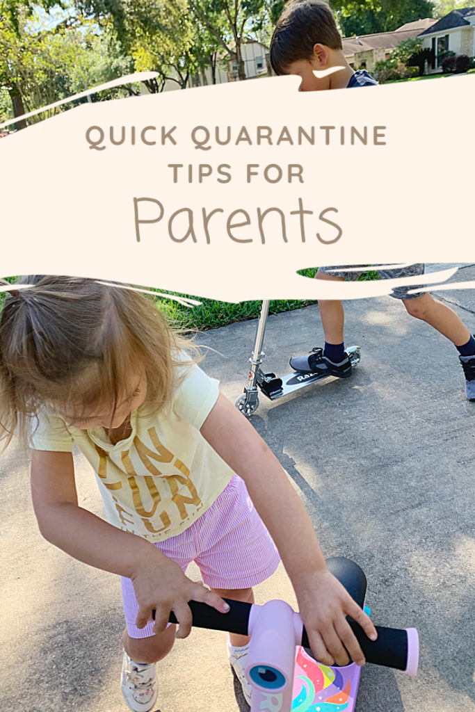 What to do with Kids in Quarantine