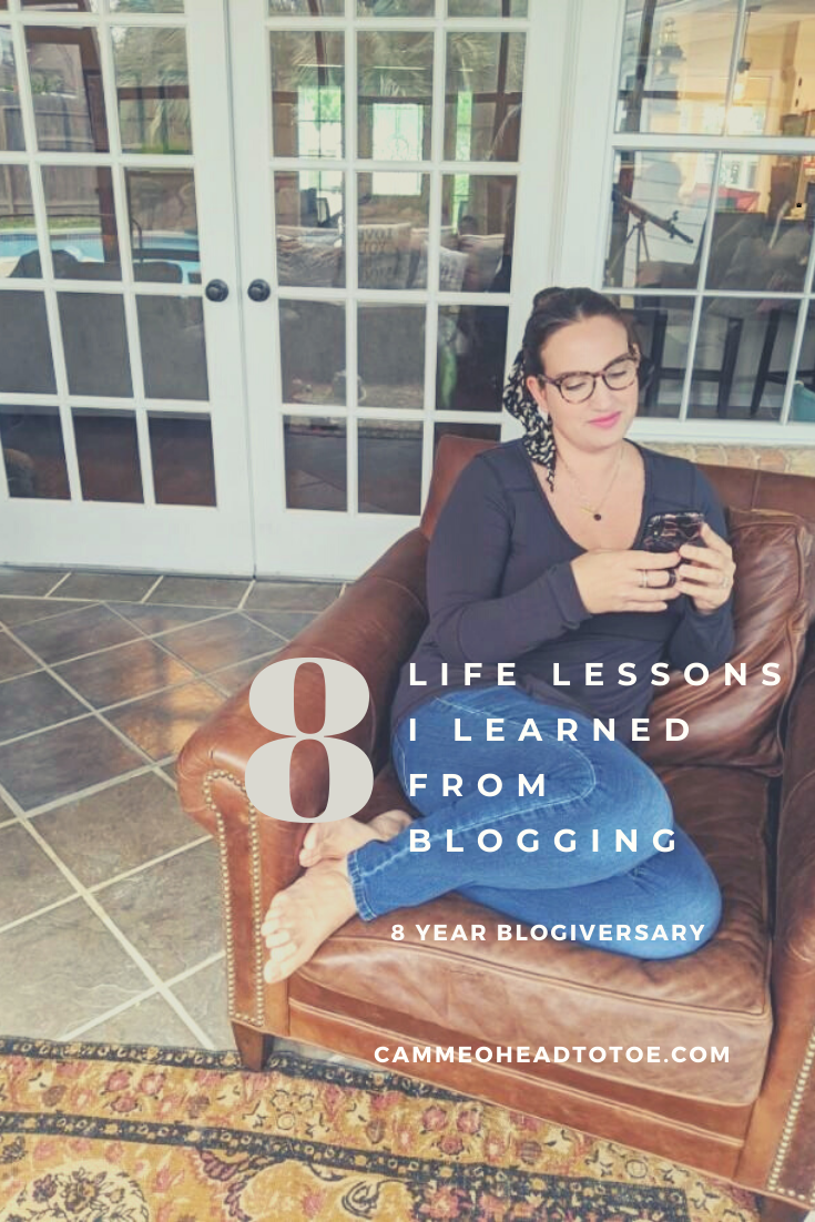 8 Life Lessons My Blog Taught Me