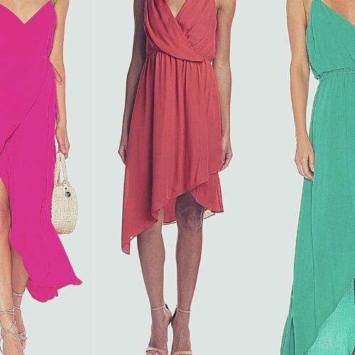 Revolve Clothing Wrap Dresses