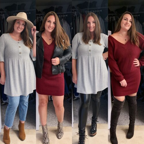 CH2T Styling: 6 Ways to Wear My Favorite PinkBlush Fall Wardrobe Staples